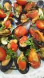 ムール貝のアクアパッツア