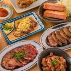 こだわりの肉料理の数々
