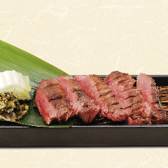 【当店名物】仙台風熟成 奇跡の厚切り牛タン炙り焼