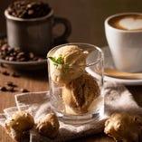 Unir コーヒーと生姜の自家製2種アイス