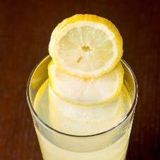 お肉×レモンサワー