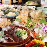 飲み会・宴会に◎ 飲み放題付きの宴会コースは3500円~!