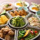 ご友人や同僚、ご家族とのお食事や飲み会にぴったりな『オードブルコース』が新登場!