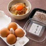 滋賀県産卵の「そぼろたまごセット」 (ご予約ナシでお持ち帰りいただけます)