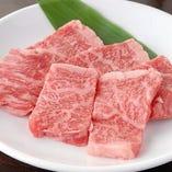 国産黒毛牛カルビ(たれ・塩)