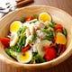 メカジキコンフィのニース風サラダ お野菜もたっぷり♪