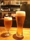 生ビール(BIGグラス650cc!)