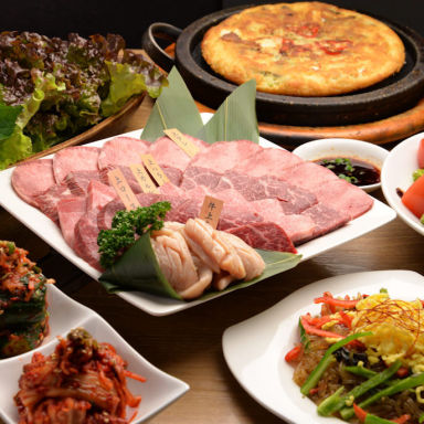 薬膳・韓国家庭料理・韓国焼肉 吾照里 ダイナシティ小田原店 コースの画像