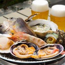 魚魚の醍醐味!海鮮BBQコース