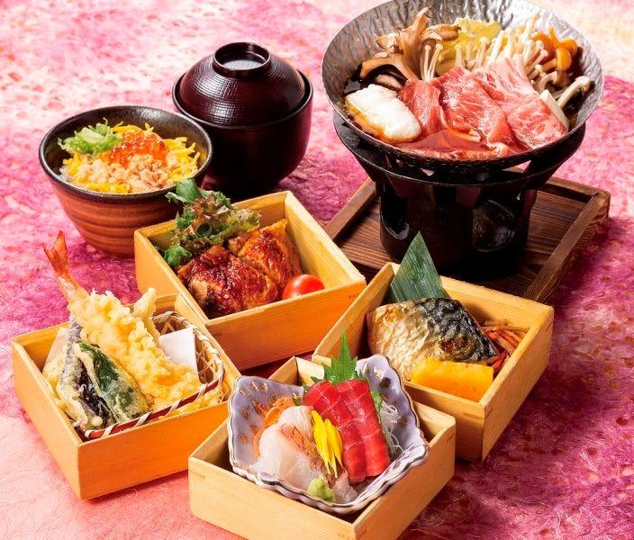 お昼の和食膳「花笑み御膳」 ~お昼のちょっと贅沢和食御膳~