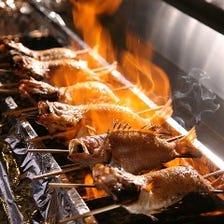 日本海の高級魚☆のどぐろ塩焼き