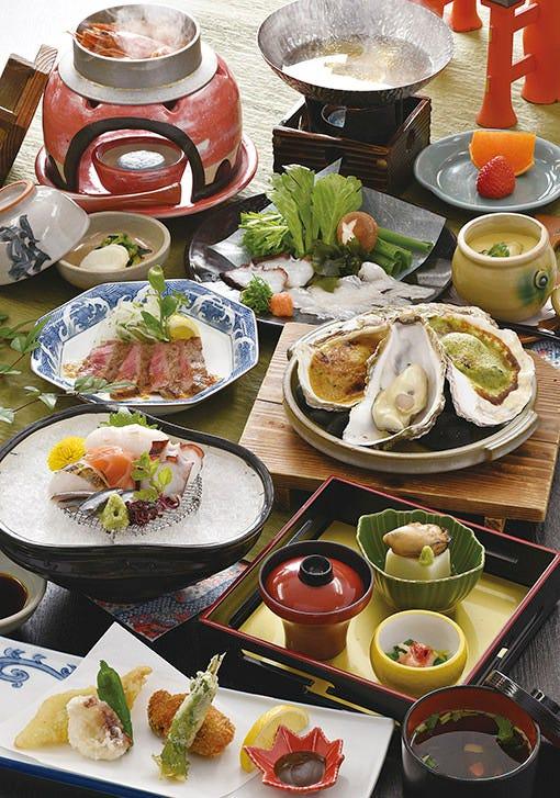 おもてなしに、旅行のお食事に 広島の味を満喫!! 郷土料理会席