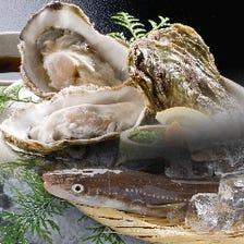 広島県産 殻付き牡蠣、国産天然穴子