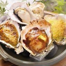 広島県江田島産 焼き牡蠣4種味くらべ
