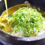 黄金スープの石焼親子丼