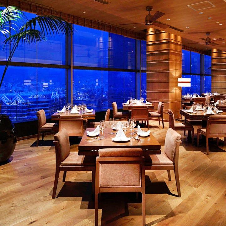 神戸を一望♪ホテル最上階レストラン