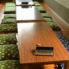 【宴会個室】最大60名様迄収容可能。
