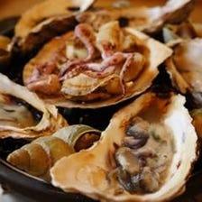 【焼き牡蠣】濃厚な旨味たっぷり
