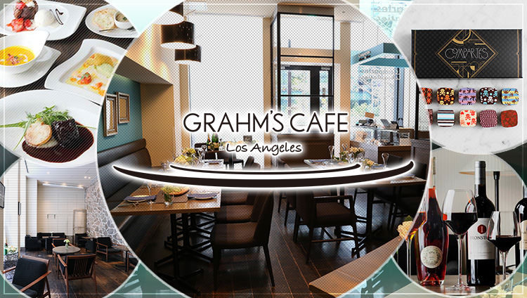 GRAHM'S CAFE -Los Angeles-