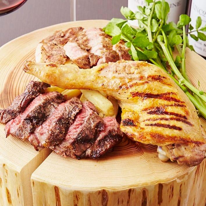厳選和牛を贅沢に味わう自慢の肉料理