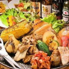 【食べ放題】2大名物!≪サムギョ&ジンギスカンプラン≫  2大人気メニュー食べ放題♪120分 2380円