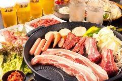 【3時間飲み放題付き】3,000円BBQコース