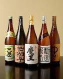 鴨なべに合う焼酎・日本酒等豊富に取り揃えております。プレミアム焼酎などもご用意しております。なべと共にお酒も進みます。