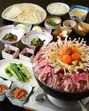 【歓送迎会・同窓会・宴会】梅園特製 鴨なべセット