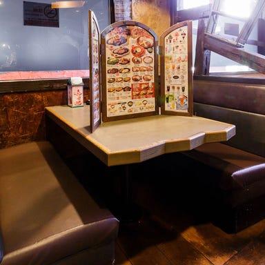 ハンバーグレストラン びっくりドンキー 天王寺店 店内の画像