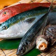 金沢港直送の厳選魚介に舌鼓を打つ