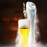 【エクストラコールド】 氷点下のビールと相性◎の熱々のバラ焼き