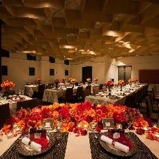 着席時65名様まで宴会可能なスペース