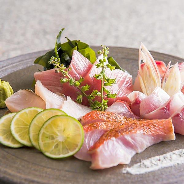 こだわりの海鮮料理の数々...