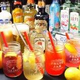 ◆飲み放題◆生ビール・サワー・梅酒・焼酎・・・各種取り揃え!!(全50種類以上)