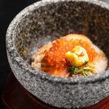 【厳選食材】日替わり鮮魚と香味野菜の石焼ご飯【兵庫県】