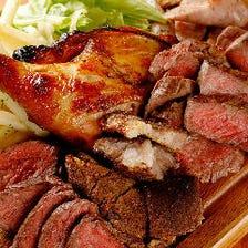 A5ランクの黒毛和牛など上質な食材
