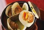 白蛤のガンガン焼き も500円(税抜)