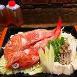 キンキ鍋セット(正油味) ※前日まで要予約