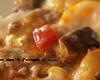 キノコとペンネのチーズミートグラタン