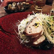 岡山食材中心に、ひと手間加えた料理