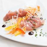 本日鮮魚カルパッチョ