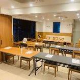 2Fは会議や研修、様々な利用目的にお席をご利用になれます。