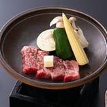 和牛ロース陶板焼(50g)