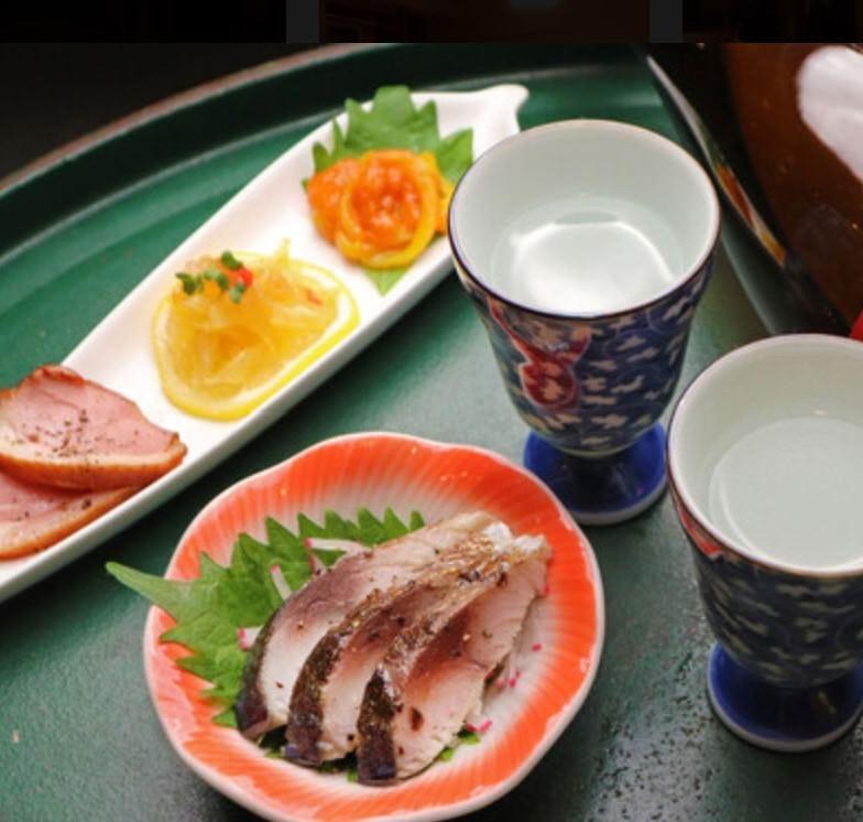 お料理との相性を追求した<日本酒>