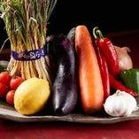 ◆:フレッシュ野菜:◆ 旬の野菜を使用した絶品料理をぜひどうぞ
