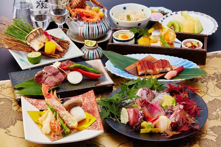 旬の食材と職人技が奏でる美食の会席