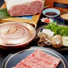 鹿児島県産 黒毛和牛2種食べ比べコース【風】8,000円(税別)全7品
