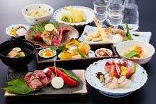 季節の本格会席料理【悠】9,000円(税別)