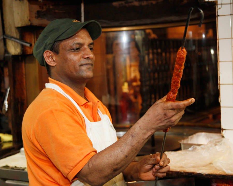 インド人コックが作る本場の味