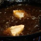 揚げたて、焼きたて‥。作りたてをお召し上がり下さい。